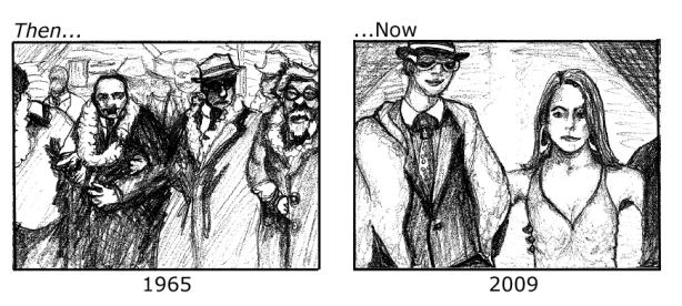 Then versus Now