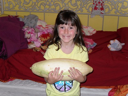 Meghan and the Squash