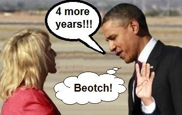 4 more years! Beotch!!!