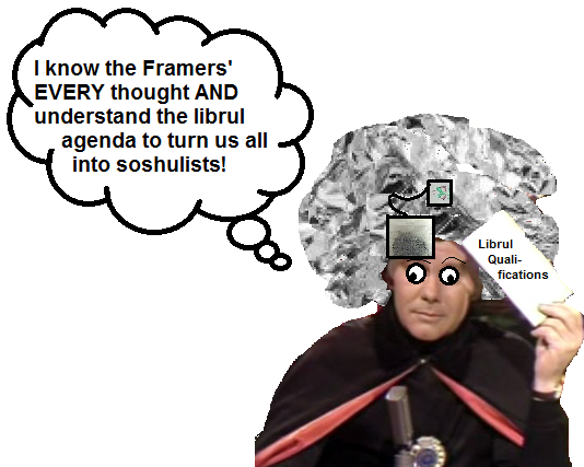 My photo response--The Great Conservative Carnac!
