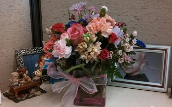 Birthday Bouquet from my Sis!