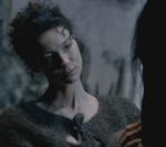 Claire meets Brimstone the horse