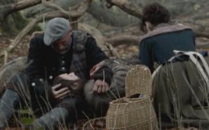 Geordie lays dying