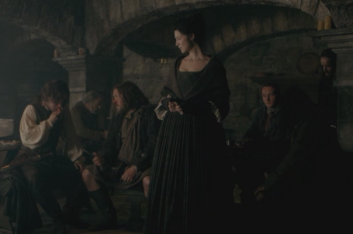 Claire feels guilty after scolding the men