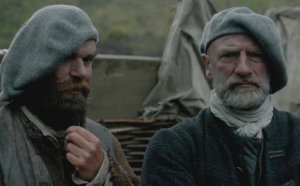 "Murtagh, ""I still say the only good weapon for a woman is poison.""  Dougal, ""Perhaps but it has certain deficiencies in combat."""