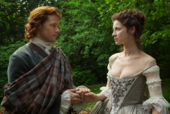 A reluctant bride, Claire and Jaime in the 1700's