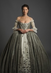 Claire's wedding dress was incredible