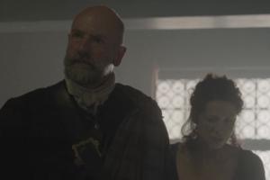 Dougal threatens war on Claire's behalf